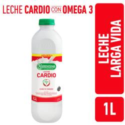 Leche L.V. Parcialmente Descremada Fortificada Cardio La Serenísima x 1 Lt.