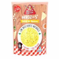 Arroz c/Salsa de Queso Instantáneo Mama Cocina x 200 g.