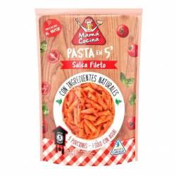 Fideos de Sémola c/Salsa Fileto Instantáneo Mama Cocina x 200 g.
