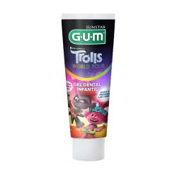 Gel Dental Infantil Trolls Gum x 100 cc.