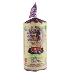 Galletas de Arroz Slim Org Dulces Dos Hermanos x 100 g.