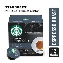 Café en Cápsulas Espresso Roast Starbucks x 12 un.