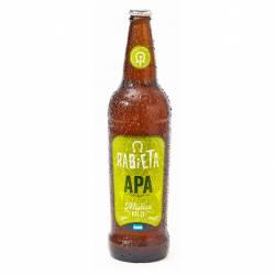Cerveza NO Retornable Apa Rabieta x 710 cc.