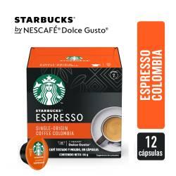Café en Cápsulas Espresso Colombia Starbucks x 12 un.
