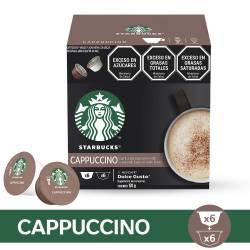 Café en Cápsulas Cappuccino Starbucks x 12 un.