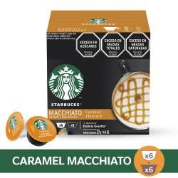 Café en Cápsulas Caramel Macchiato Starbucks x 12 un.