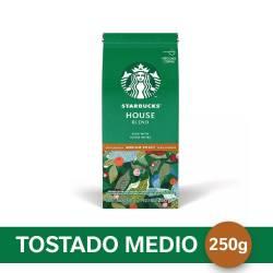 Café Molido House Blend Starbucks x 250 g.