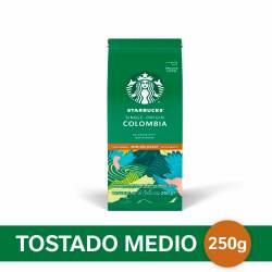 Café Molido Colombia Starbucks x 250 g.