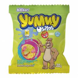 Pastillas de Goma Ositos Yummy x 30 g.