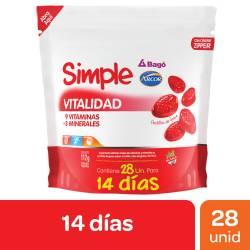 Suplemento Dietario Vitalidad Simple x 112 g.