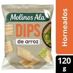 Dips de Arroz Horneados Molinos Ala x 120 g.