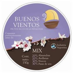 Mix de Frutos Secos Seleccionados Buenos Vientos x 150 g.