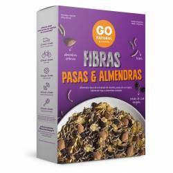 Fibras Pasas y Almendra Est Go Natural x 250 g.