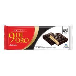Oblea Bañadas en Chocolate 9 de Oro x 4 un.