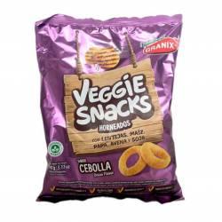Veggie Snacks sabor Cebolla Granix x 90 g.