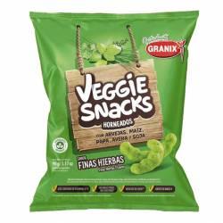 Veggie Snacks sabor Finas Hierbas Granix x 90 g.