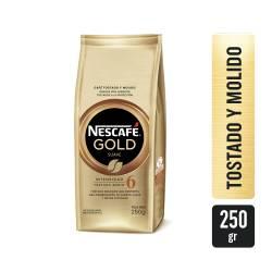 Café Molido Gold Suave Nescafé x 250 g.