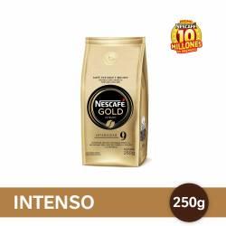 Café Molido Gold Intenso Nescafé x 250 g.