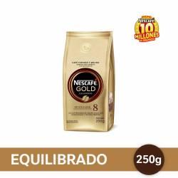 Café Molido Gold Equilibrado Nescafé  x 250 g.