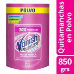 Quitamanchas Polvo Pink Dp Vanish x 850 g.