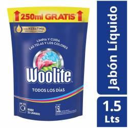 Detergente Líquido Todos los Días Oft Dp Woolite x 1,5 Lt.