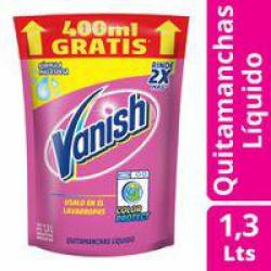 Quitamanchas Líquido Pink Oft Dp Vanish x 1,3 Lt.