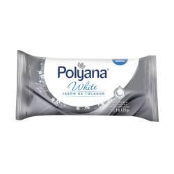 Jabón Tocador White Polyana x 3 un.
