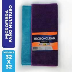 Paño Microfibra Multiuso Micro-Clean x 1 un.