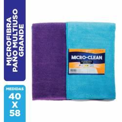 Paño Microfibra Multiuso Grande Micro-Clean x 1 un.