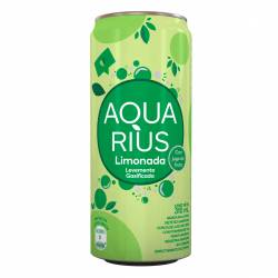 Agua c/Gas Limonada Aquarius x 310 cc.