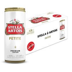 Cerveza Stella Artois Pack x 10 Latas de 269 cc.