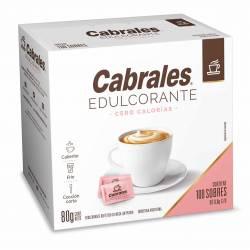 Endulzante Cero Calorías Sobres Cabrales x 100 un.