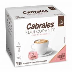 Endulzante Cero Calorías Sobres Cabrales x 50 un.