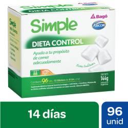 Dieta Control Simple x 144 g.