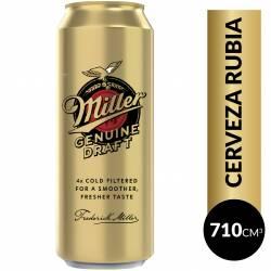 Cerveza Lata Miller x 710 cc.