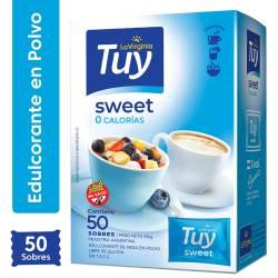 Edulcorante 0 Calorías Sweet Sobres Tuy x 50 un.