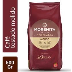Café Tostado Molido Colombia La Morenita x 500 g.