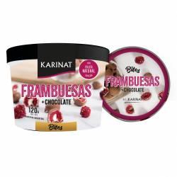 Bocadito Frambuesa c/Baño de Chocolate Karinat x 120 g.
