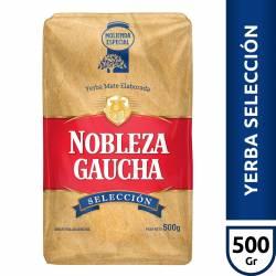 Yerba Mate Selección Nobleza Gaucha x 500 g.