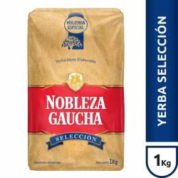 Yerba Mate Selección Nobleza Gaucha x 1 Kg.