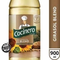 Aceite de Girasol Blend Cocinero x 900 cc.