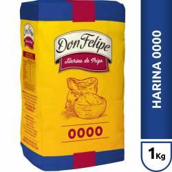 Harina de Trigo 0000 Don Felipe x 1 Kg.