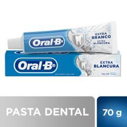 Crema Dental con Flour Extra Blanco Oral-B x 70 g.