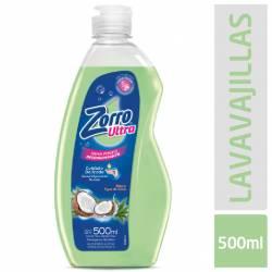 Detergente Líquido Aloe y Coco Zorro x 500 cc.