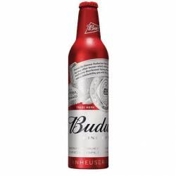 Cerveza Rubia Ow Aluminio Budweiser x 473 cc.