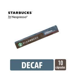 Café en Capsula Espresso Roast Dec Starbucks x 10 un.