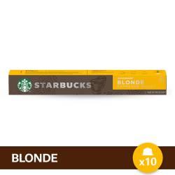 Café en Capsula Blonde Espresso R Starbucks x 10 un.