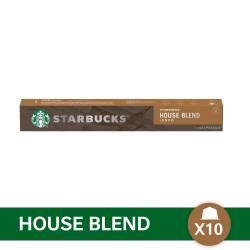 Café en Capsula Espreso House Blend Starbucks x 10 un.