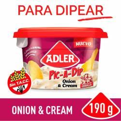 Queso Untable Cebolla y Crema Adler x 190 g.