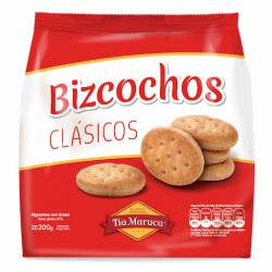 Bizcochos Clásicos Tía Maruca x 200 g.